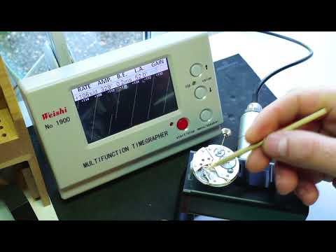 How To - Service a Mechanical Watch - Part 5 Timing & Regulation - ETA 6498-1
