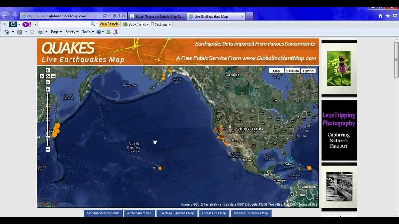 High alert japan tsunami debris radiation to hit california coast japan tsunami debris radiation to hit california coast within months april 18 2012 youtube gumiabroncs Images
