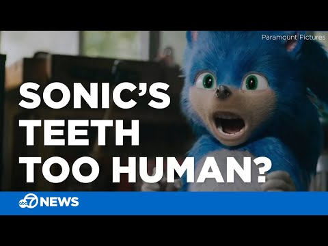 The Internet Is Not Okay With Sonic S Teeth Youtube