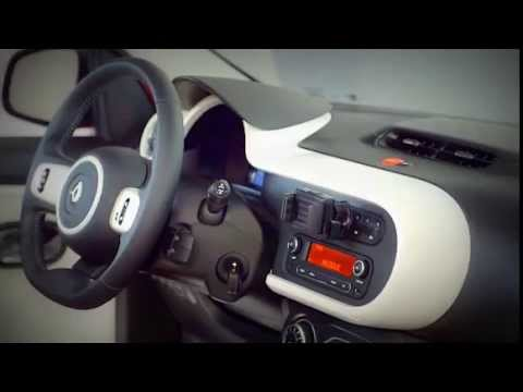 New 2014 Renault Twingo III Interior - YouTube