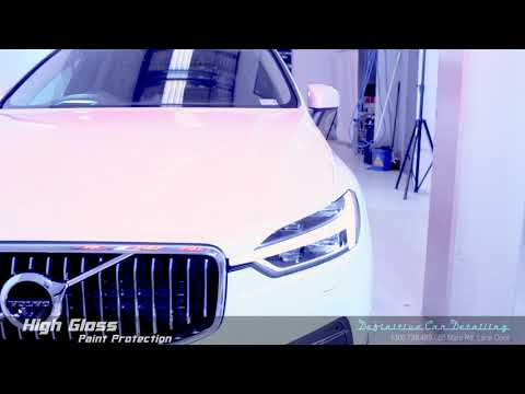Volvo XC60 Crystal White Definitive Sydney Liquid Glass Ceramic Coating High Gloss Paint Protection