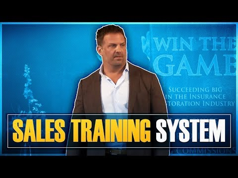 The SVG Phase I Sales Training System