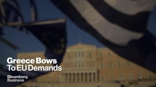 Greece's 11th-hour Dash to Remain in the Euro