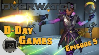 Overwatch   Sombra Game-play   D-Day Games (Overwatch) Episode #5
