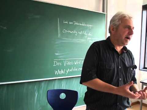 Ökosozialismus oder Barbarei - Dr.Bruno Kern - Degrowth Conference 2014 Leipzig (1/3)