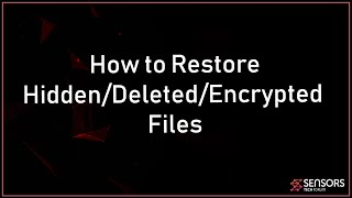 Recover Your Data and Find Hidden Files