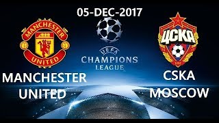 Manchester United vs CSKA Moscow  UEFA Champions League  Official Match Highlights