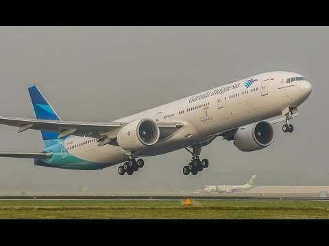 BEST HEAVY Landings And Take Offs Of 2016, Schiphol Airport