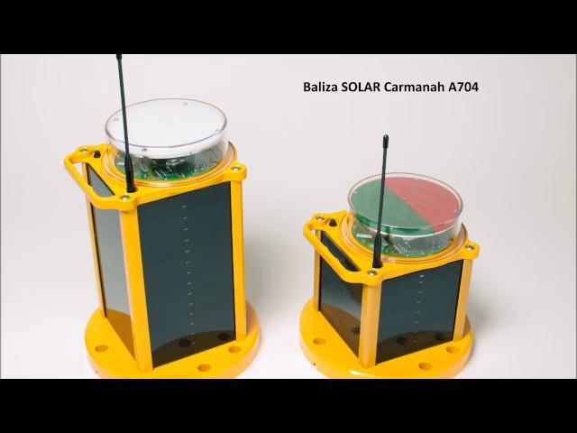 Instalacion y Puesta en marca Baliza Solar Carmanah A704 para Helipuerto
