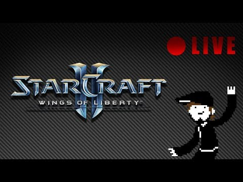 StarCraft II - LIVE 08 - Wings of Liberty [Let's Play][Stream][PC]