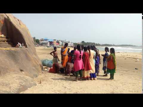 Mahaballipuram. Ritual tribal a la diosa Lakshmi