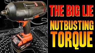 THE BIG LIE -- Nutbusting / Breakaway Torque (What is it?) - Impact Wrench Torque Ratings