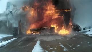 Building Fire - 02/15/2019 Media Release FireCam