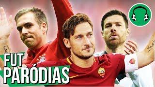 ADEUS LENDAS Totti Xabi Alonso Lahm Paródia Hear Me Now Alok Bruno Martini