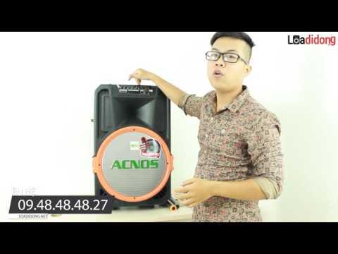 Review chiếc loa kéo di động BEATBOX ACNOS-KB39U