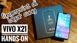 Vivo X21 sudah dirilis beberapa waktu lalu di luar negeri tapi. kab...