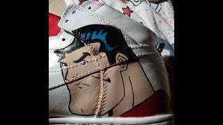 Custom Made Nike Dunk Superman Shoes