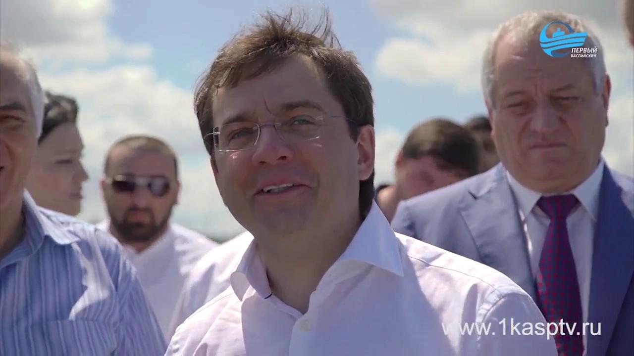 Заместитель министра строительства и ЖКХ России сделал замечание коммунальным службам Каспийска