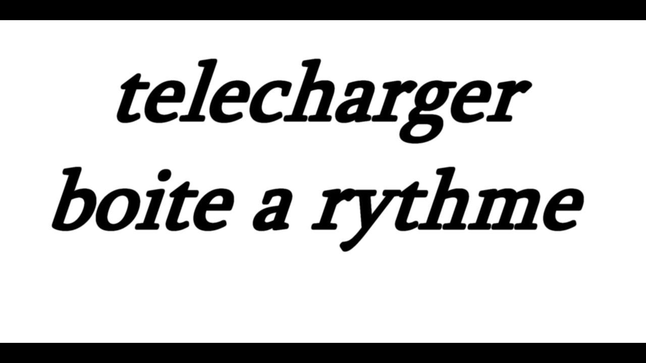 A TÉLÉCHARGER CHAABI BOITE RYTHME