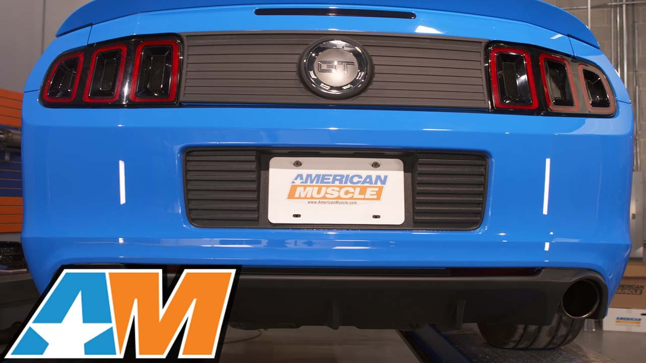 2013-2014 Mustang MMD by FOOSE Rear Valance Diffuser (GT ...
