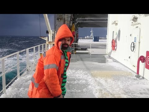 Deck Cadet's Life Onboard a Containers Vessel
