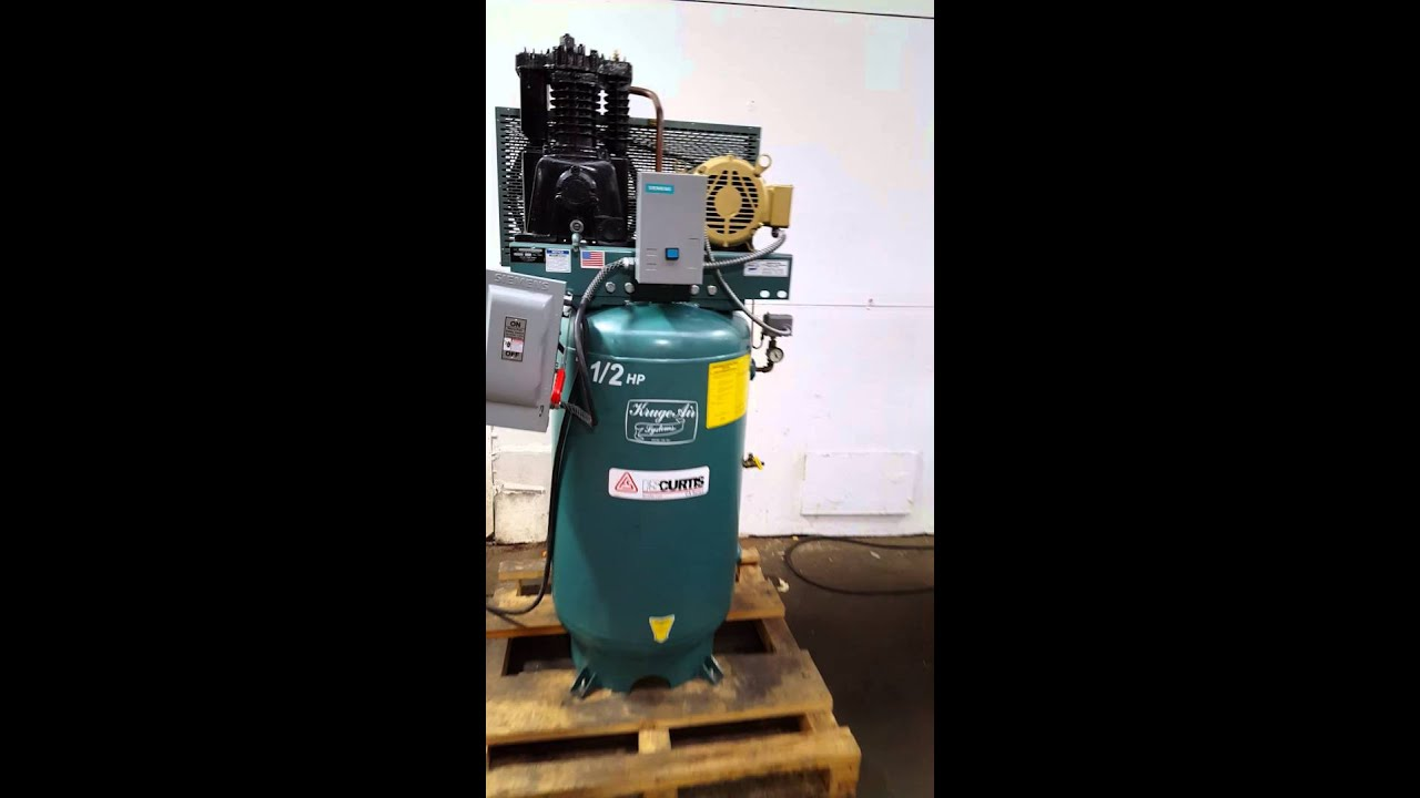 maxresdefault curtis 7 1 2 hp air compressor youtube  at virtualis.co