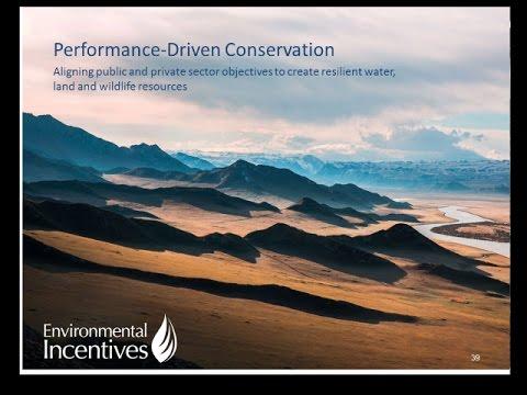 Jeremy Sokulsky Conservation Funding Framework for Long term Restoration