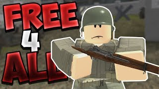 ROBLOX WWII - NEW Free For All Game Mode!! | I'm The Worst Sniper...