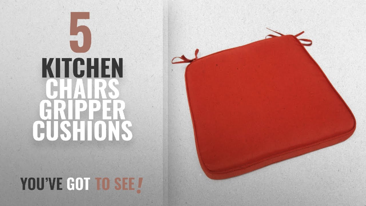 Top 10 Kitchen Chairs Gripper Cushions [2018]: Deauville