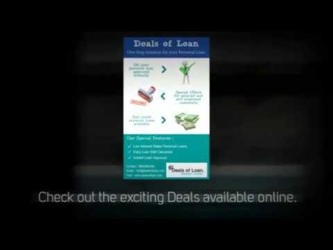 Best Personal Loan in India- Deals of Loan