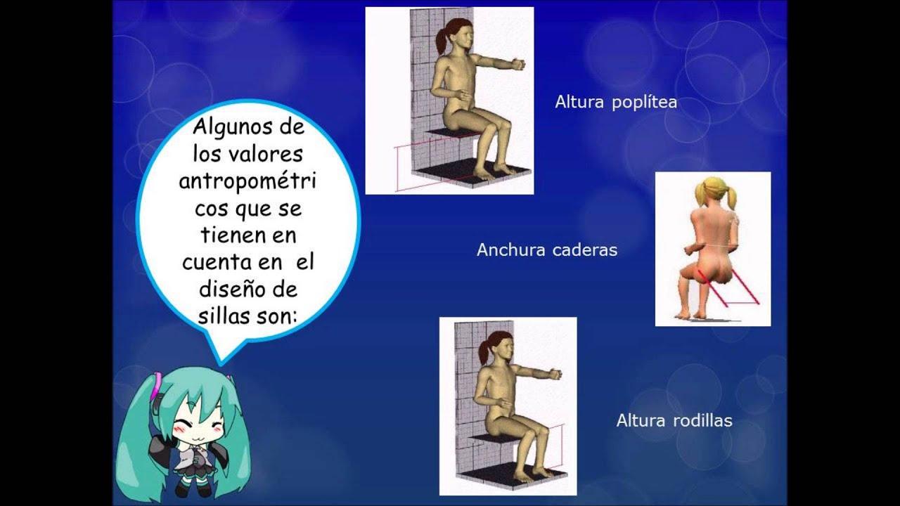 Ergonomia y antropometria youtube for Antropometria y ergonomia