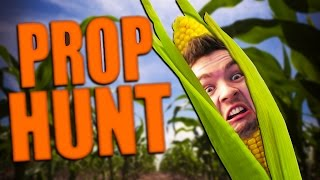 BE THE CORN!   Gmod: Prop Hunt (Funny Moments)