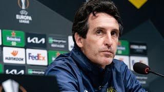 Rueda de prensa de Unai Emery - Análisis FC Salzburg