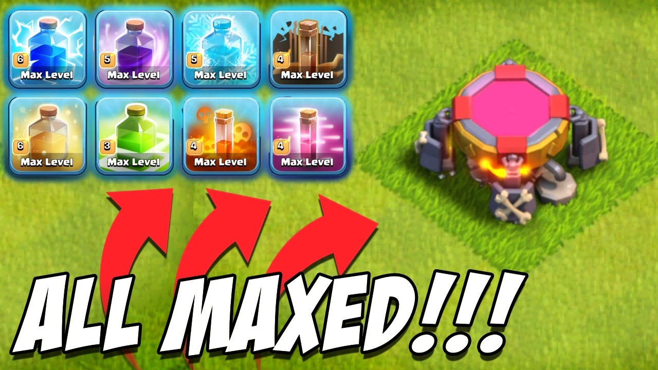 clash of clans spell factory - photo #26