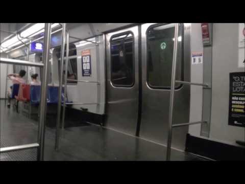 Riding Brasilia Metro, Brazil - From 102 Sul to Central Station