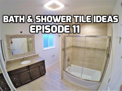 Bath & Shower Tile Ideas EPISODE 11 Elegant Design