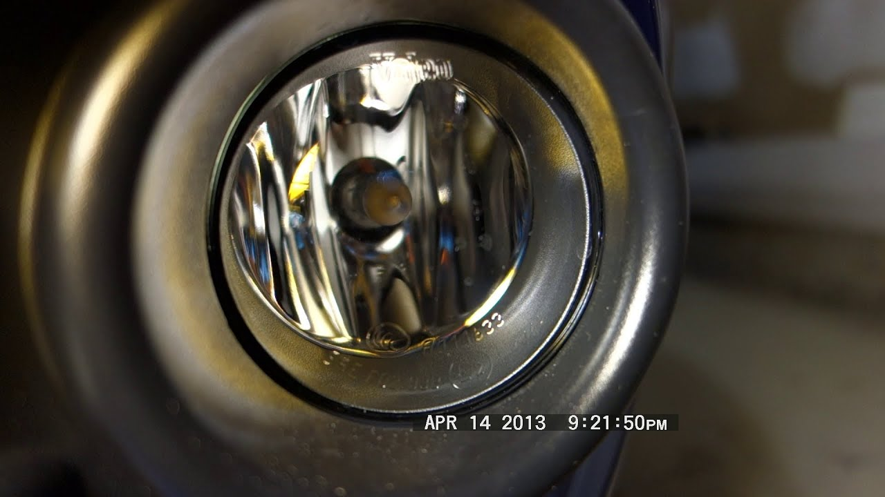 How To Reach Amp Replace Ford Focus Fog Lamp Bulbs Youtube