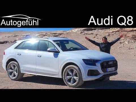Audi Q8 FULL REVIEW driving Audi's new SUV flagship - Autogefühl