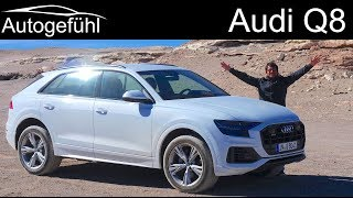 Audi Q8 FULL REVIEW driving Audi's new SUV flagship - Autogefühl