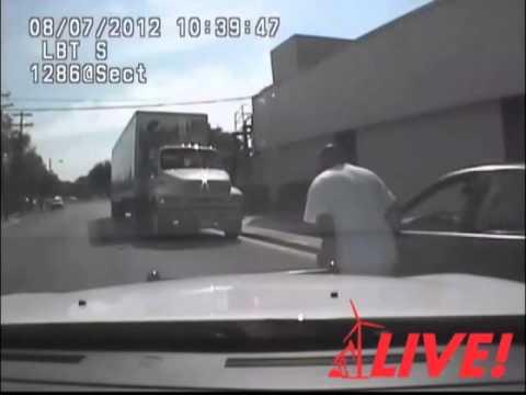 San Angelo Police Chase Aug. 7, 2012