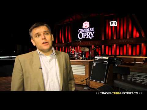 Grand Ole Opry - Travel Thru History, Nashville, TN