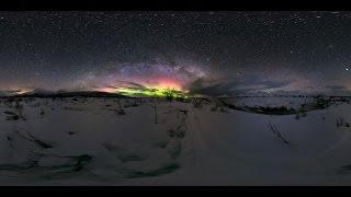 Milky Way over Glacierview