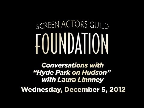 Conversations with Laura Linney of HYDE PARK ON HUDSON