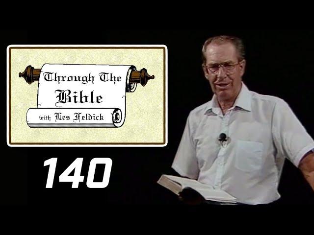 [ 140 ] Les Feldick [ Book 12 - Lesson 2 - Part 4 ] Review - Gen to Rev - Satan Cast from Heaven