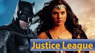Justice League | Wonder Woman küsst Batman?