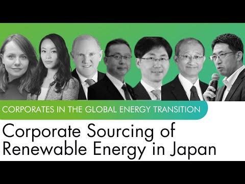 Corporate Sourcing of Renewable Energy in Japan