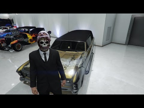 GTA 5 ONLINE - KILLING THE LOBBY FOR HALLOWEEN ;)
