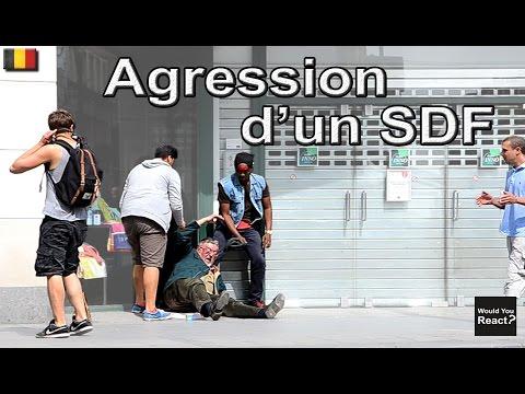 Expérience Sociale #14: AGRESSION SDF