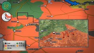 21 сентября 2017. Военная обстановка в Сирии. Неудачная атака боевиков Ан-Нусры в Хаме.
