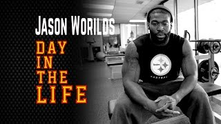 Day In The Life of Pittsburgh Steelers Jason Worilds